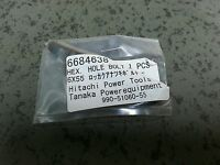 6684638 Hex. Hole Bolt Hitachi Tanaka Genuine Part For Grass Trimer