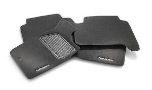 Genuine-Nissan-Navara-D22-Carpet-Floor-Mats-Set-of-4-Front-Rear-Dual-Cab-2001-On