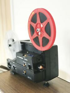 Chinon-IQ-3000GL-SUPER-8-8MM-VARIABLE-SPEED-CINE-PROJECTOR-Fully-serviced