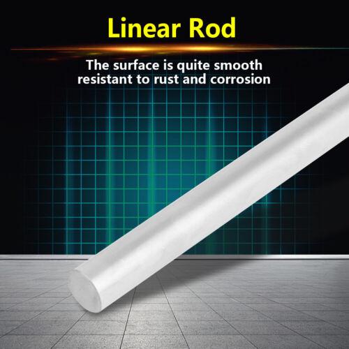 1pc Bearing Steel Cylinder Rail Linear Shaft Straight Round Rod 12mm Diameter