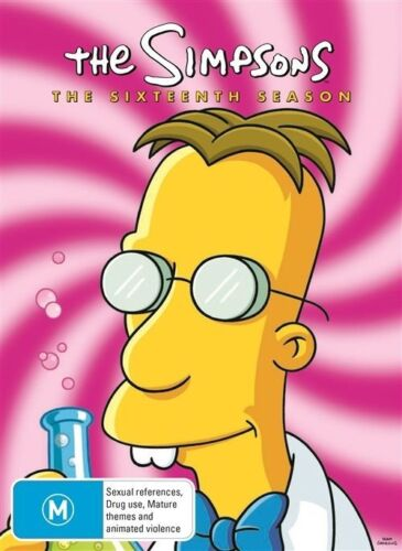 1 of 1 - The Simpsons : Season 16 (DVD, 2013, 4-Disc Set)
