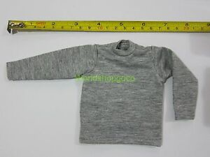 """1//6 Scale Tee Yellow Long Sleeves T-Shirt For 12/"""" Action Figure Toys"""