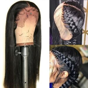 Pre-Plucked-360-Lace-Front-100-Brazilian-Human-Hair-Wig-Glueless-Full-Lace-Wigs