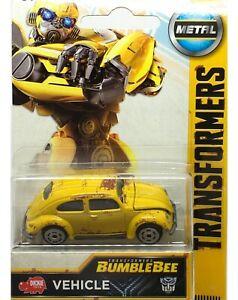 Majorette-Dickie-Transformer-Bumblebee-Volkswagen-VW-Beetle-Yellow-1-64-Vintage