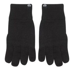 Animal-Neuf-Homme-Tricote-Fairmount-Gants-Noir-Neuf