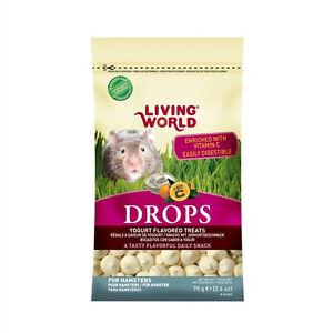 Hagen-Living-World-HAMSTER-DROPS-FLAVORED-TREATS-Yogurt-Honey-or-Berry-2-6-oz