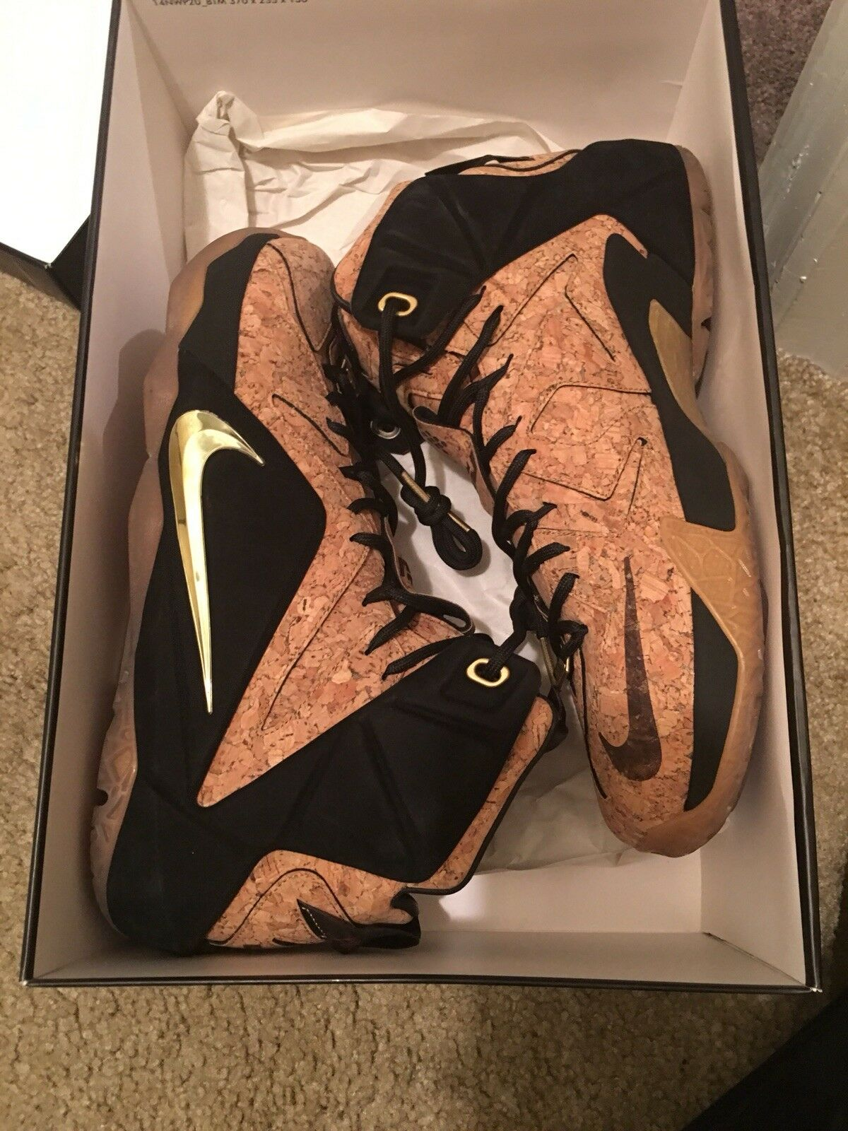 Nike LeBron 12 King's Cork  Cheap and fashionable
