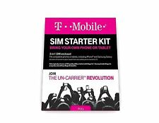 T-Mobile Prepaid Complete SIM Starter Kit No Contract Network Connection Nano