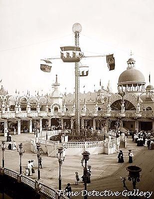 Coney Island 1905- Historic Photo Print Johnstown Flood New York