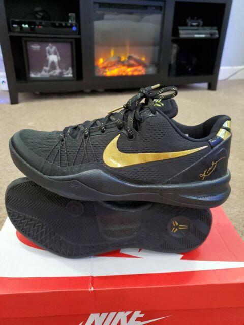 look for latest fashion shop 🔥RARE Nike KOBE 8 VIII System Elite Black Gold 603269-100 sz 8.5 Zoom  lunarlon