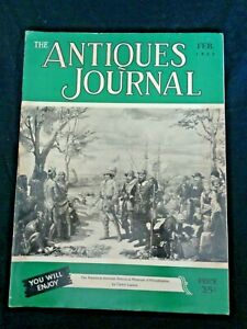 Antiques-Journal-1952-Valentine-Molds-Wedgwood-Majolica-Moss-Rose-China-Lincoln