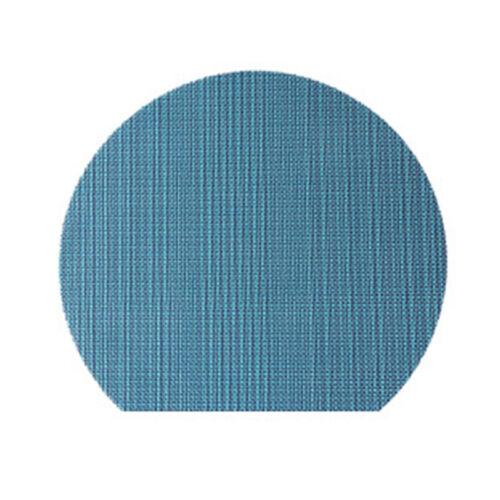 PVC Leather Placemat Dining Table Mat Semicircle Coaster Home Desktop Decoration