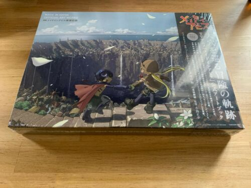 Made in Abyss Official Art Book Cave exploration records Japan anime