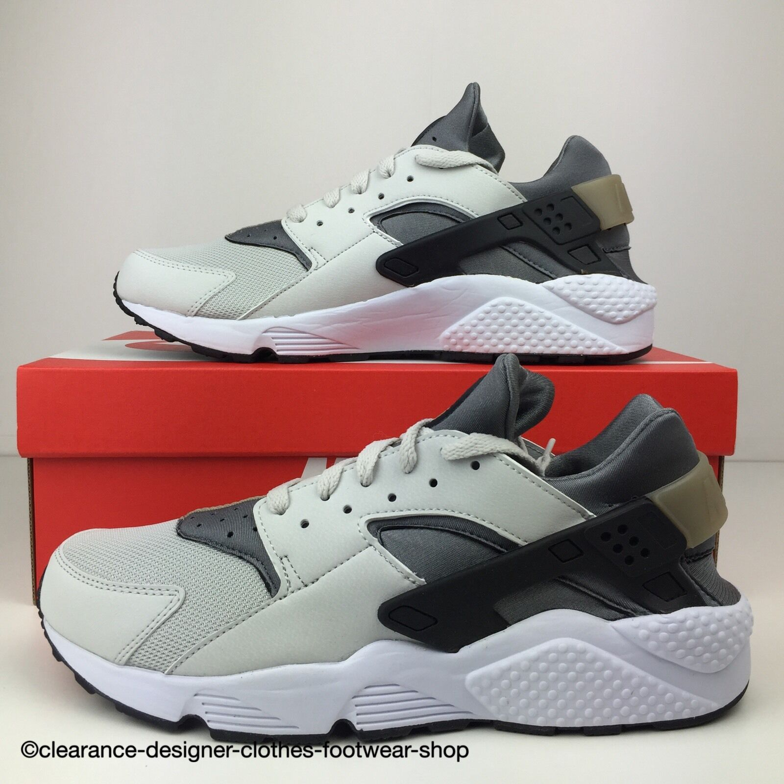 NIKE AIR HUARACHE TRAINERS Hommes SNEAKERS CASUAL RETRO SHOES11120