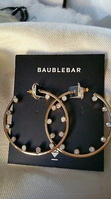 dbfb3f3d53b Nordstrom BP Women's Gold Flat Oval Hoop Earrings 2.25