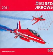 BROSCHÜRE BOOKLET AEROBATIC DISPLAY TEAM RED ARROWS 2011, ROYAL AIR FORCE