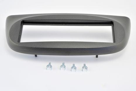 Mascherina supporto autoradio 1 Din colore nero Renault Twingo dal 2007 ISO