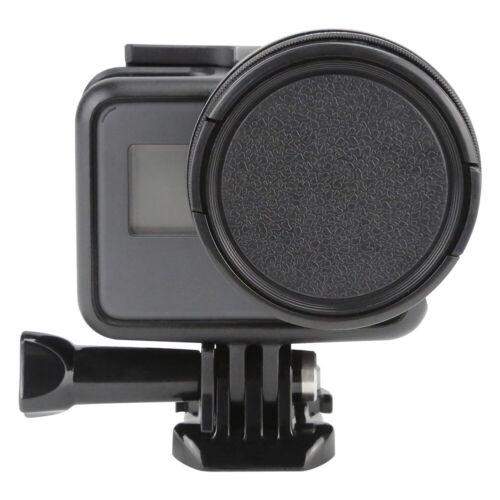 Cámara De Acción EG /_ 52mm UV Filtro para GoPro Hero 7 5 6 Negro Con Cubierta De Lente Moun