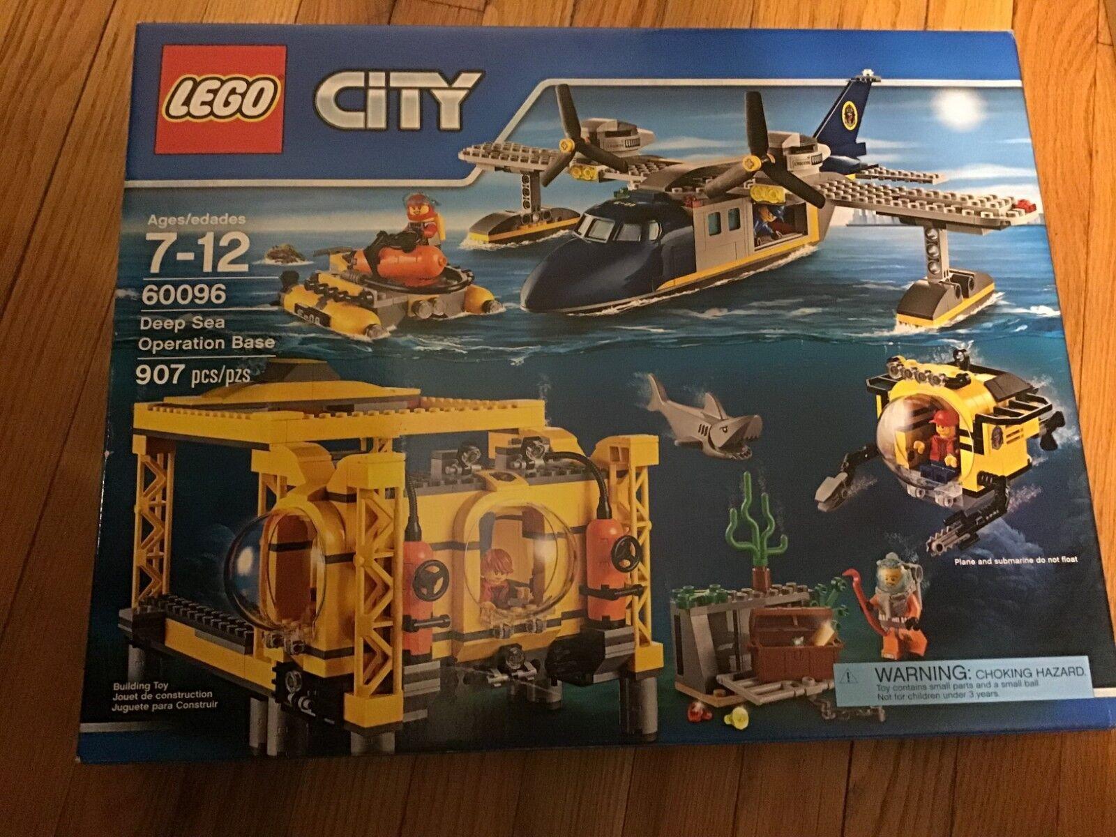 nuovo in scatola 60096 DEEP SEA OPERATION BASE Lego città  Operation Base - Retirosso  incentivi promozionali