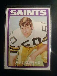 1972-Topps-164-Jake-Kupp-Saints-NrMt-NM-Sharp-High-Grade