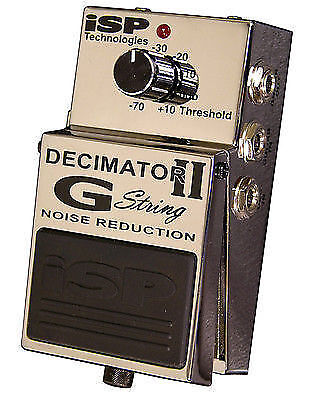 isp decimatorgii guitar effect pedal for sale online ebay. Black Bedroom Furniture Sets. Home Design Ideas