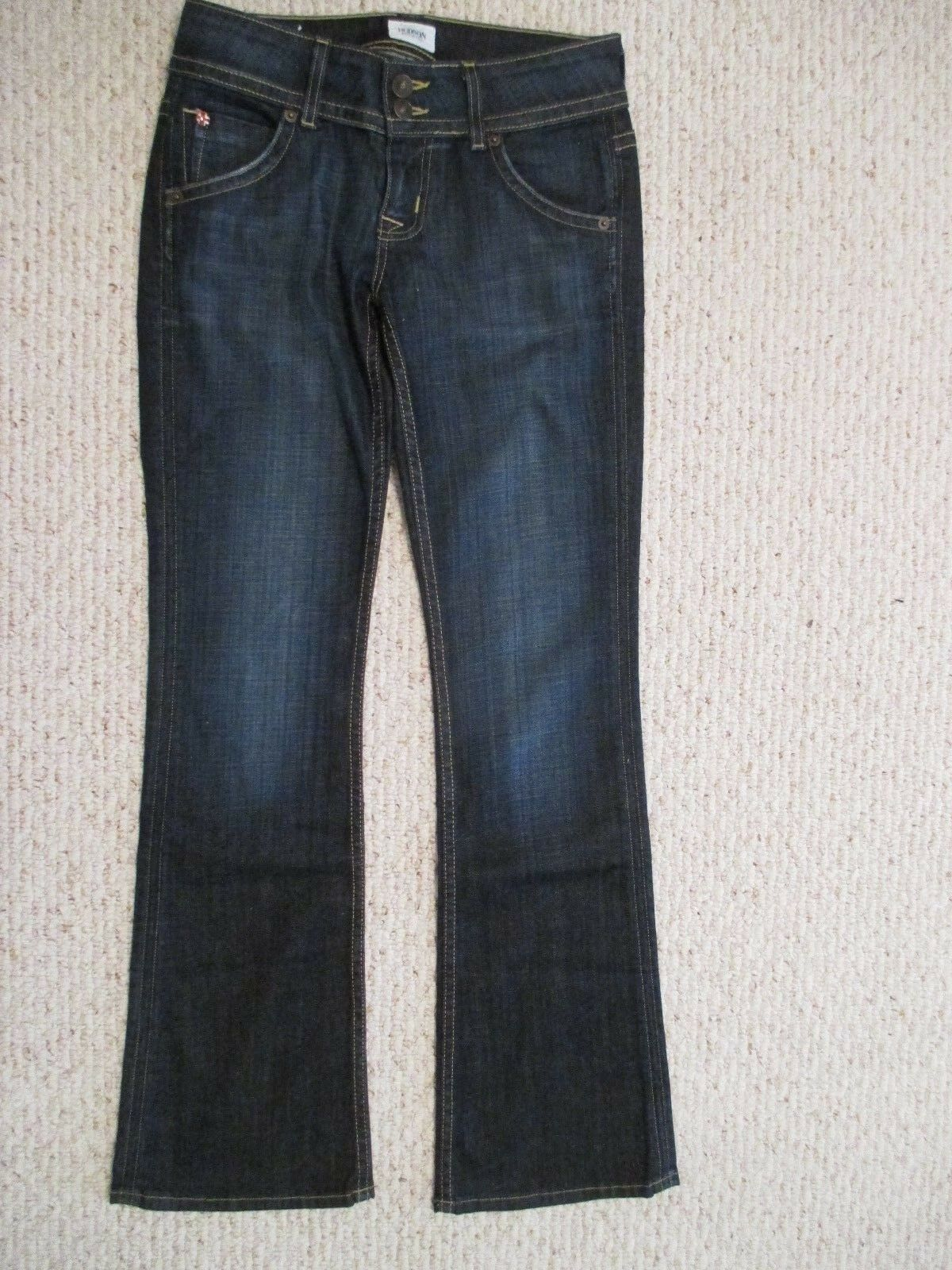 Hudson Signature Petite Boot Cut Jeans Size 26 X 31  color Elm