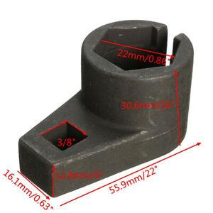3-8-034-22mm-Drive-Sensore-Lambda-Ossigeno-O2-Strumento-di-rimozione-di-Offset-presa-Foro-Filo