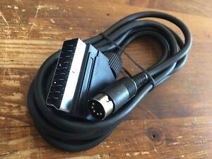 Cavo AV SCART 5DIN Universale x Commodore 64 C64C SX64 VIC20 PLUS4 C128 C16 C116