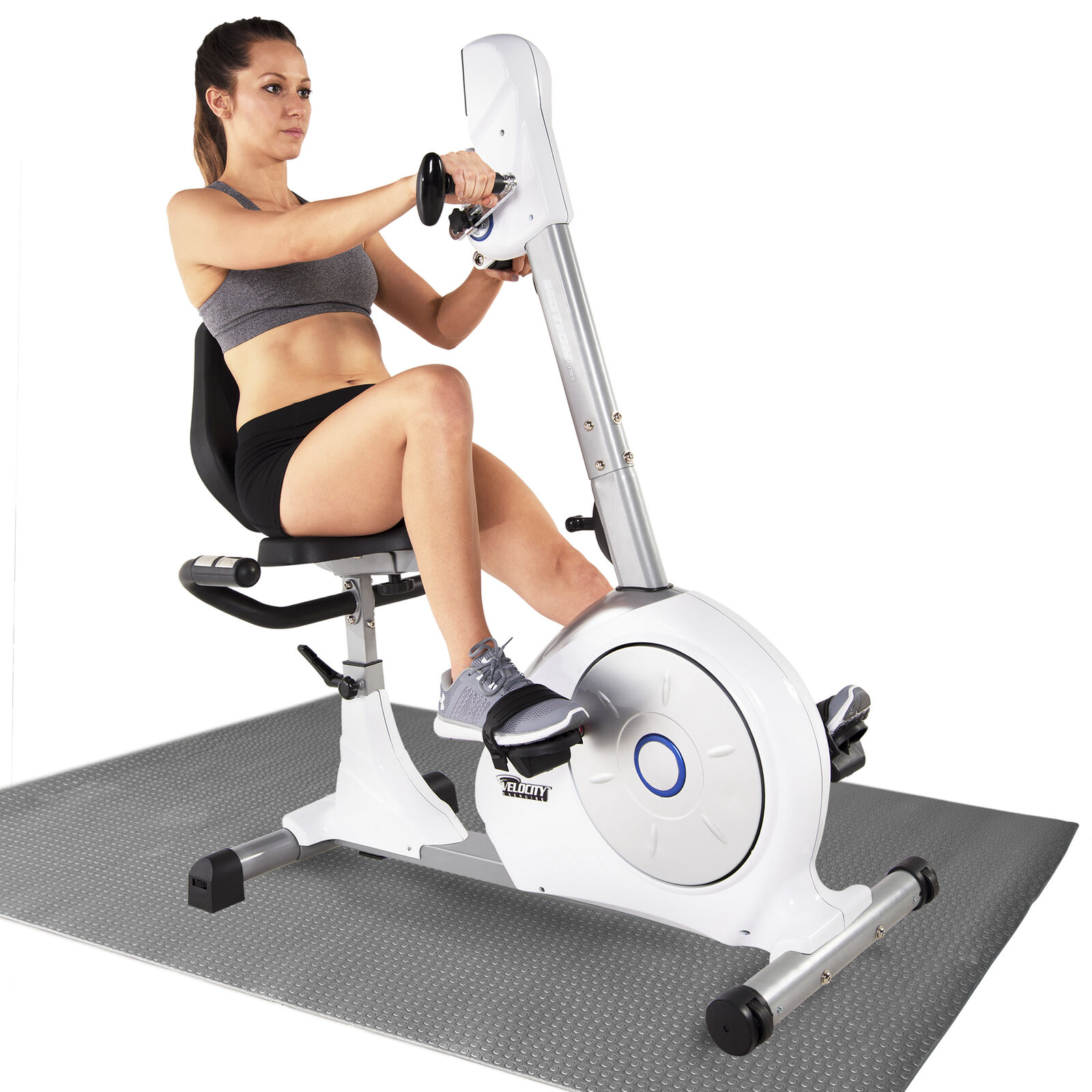 Velocity Exercise Dual Motion Recumbent Exercise Bike and Eq