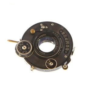 C-P-Goerz-Berlin-12-5cm-F-6-8-Dagor-in-Dial-Compur-Lens-Vintage-UG
