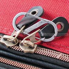 2x S Shape Keychain Hook Clip Climbing Carabiner EDC Backpack Lock Jian