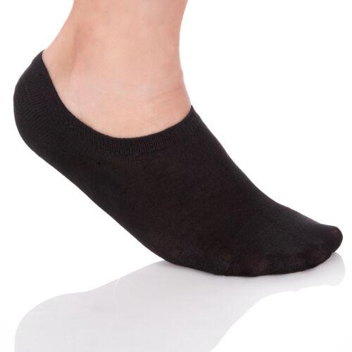 Herren Unsichtbare Multipackung Socken Silikon Einsatz Baumwolle Nein Zeigt