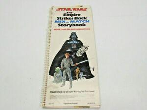 1980 Original Star Wars The Empire Strikes Back Mix or Match Kids Storybook