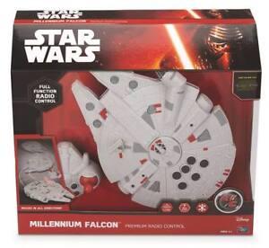 Star Wars Rc Vehicle Millenium Falcon Télécommande Led Son 2.4 Ghz