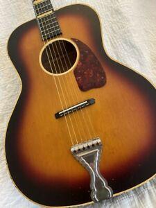 Vintage Guitar 1940 - 1950s United Guitar / Code-Kay-Regal USA Rare Headstock