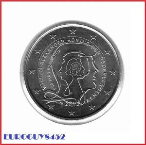 NEDERLAND - 2 € COM. 2013 UNC - 200 JAAR KONINKRIJK DER NEDERLANDEN