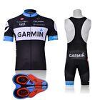 9D pad Sport Team Cycling Jersey Sets Bike Bicycle Bib Top Short Sleeve Clothing