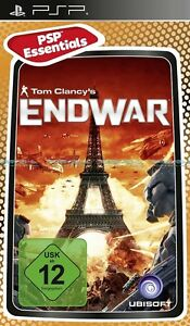Tom-Clancy-s-Endwar-End-War-fuer-Sony-Playstation-Portable-PSP-Neu-Ovp