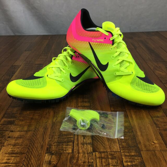 c1075a663dc Nike Zoom JA Fly 2 Sprint Track Spikes 705373-999 Volt Pink Olympics Rio  Size