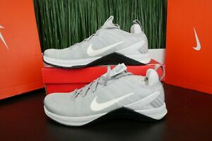 newest collection 149b2 14dbd Image is loading Nike-Metcon-DSX-Flyknit-2-Training-Shoes-Grey-
