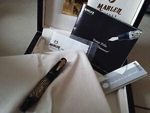 Stylo-plume-fountain-pen-fullhalter-MARLEN-VENUS-FELIX-MAJESTIC-18k-nib-writing