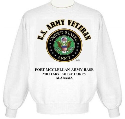 Mcclellan Fort Sweat base à shirt la emblèmeAlabamade militaire ZPXuOiwkT