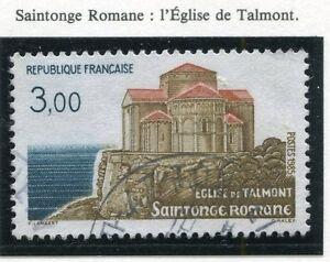 TIMBRE-FRANCE-OBLITERE-N-2352-SAINTONGE-ROMANE