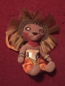 Disney The Lion King Broadway NYC Musical Simba Plush Doll Toy Stuffed Animal