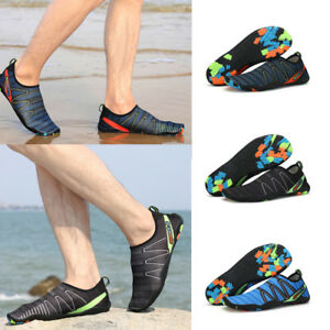 52c0f49e6 Men Quick-Dry Water Shoes Barefoot Aqua Socks for Beach Swimming ...