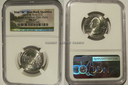 2019 W Frank Church River of No Return 25c NGC MS 67 West Point
