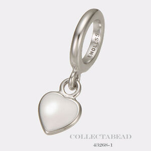 New Endless Jewelry 43268-3 Red Enamel Heart Drop Charm Sterling Silver Fashion Jewelry