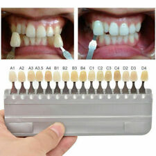 16 Colors Dental Digital Tooth Shade Guide For Teeth Whitening Dentist Use A1 D4
