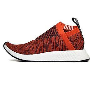 brand new 11f75 50d0c Details about BY9406 Adidas Men NMD CS2 Primeknit orange future harvest  core black .0 US