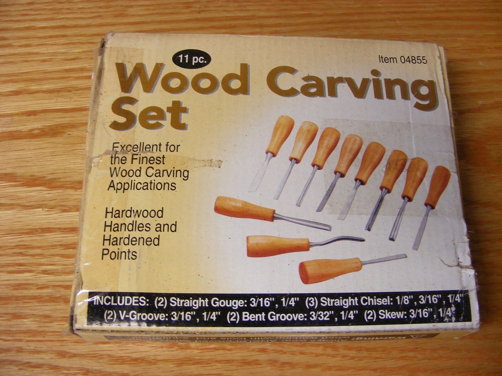 11 Piece High Quality Wood Carving Set